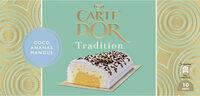 Carte D'or Tradition Buche Glacée Coco Ananas Mangue 10 parts 1L - Produit