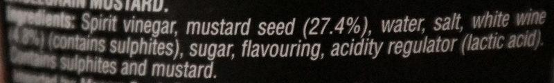 A l' Ancienne - Ingredients - en