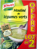 Mouliné de légumes verts (Lot de 2) - Product