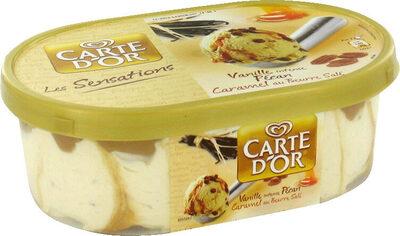 900ML Glace Carte D'or Sensation Douceur Vanille / Noix Pecan - Produit - fr