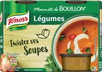 Knorr Marmite de Bouillon Légumes 8 Capsules - Produit - fr