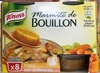 Knorr Marmite de Bouillon Poule 8 Capsules 224g - Produit