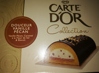 Buche Vanille Pecan Caramel Et Biscuit Carte D'or 900ML - Product