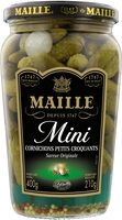 Maille L'Original Cornichons Mini Croquants Bocal 210g - Product - fr