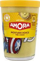 Amora Moutarde Douce Verre TV 190g - Product - fr