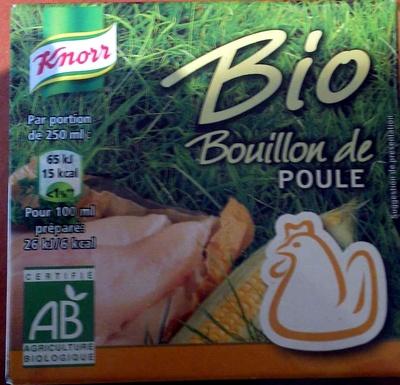 Bouillon de poule bio - Produit - fr