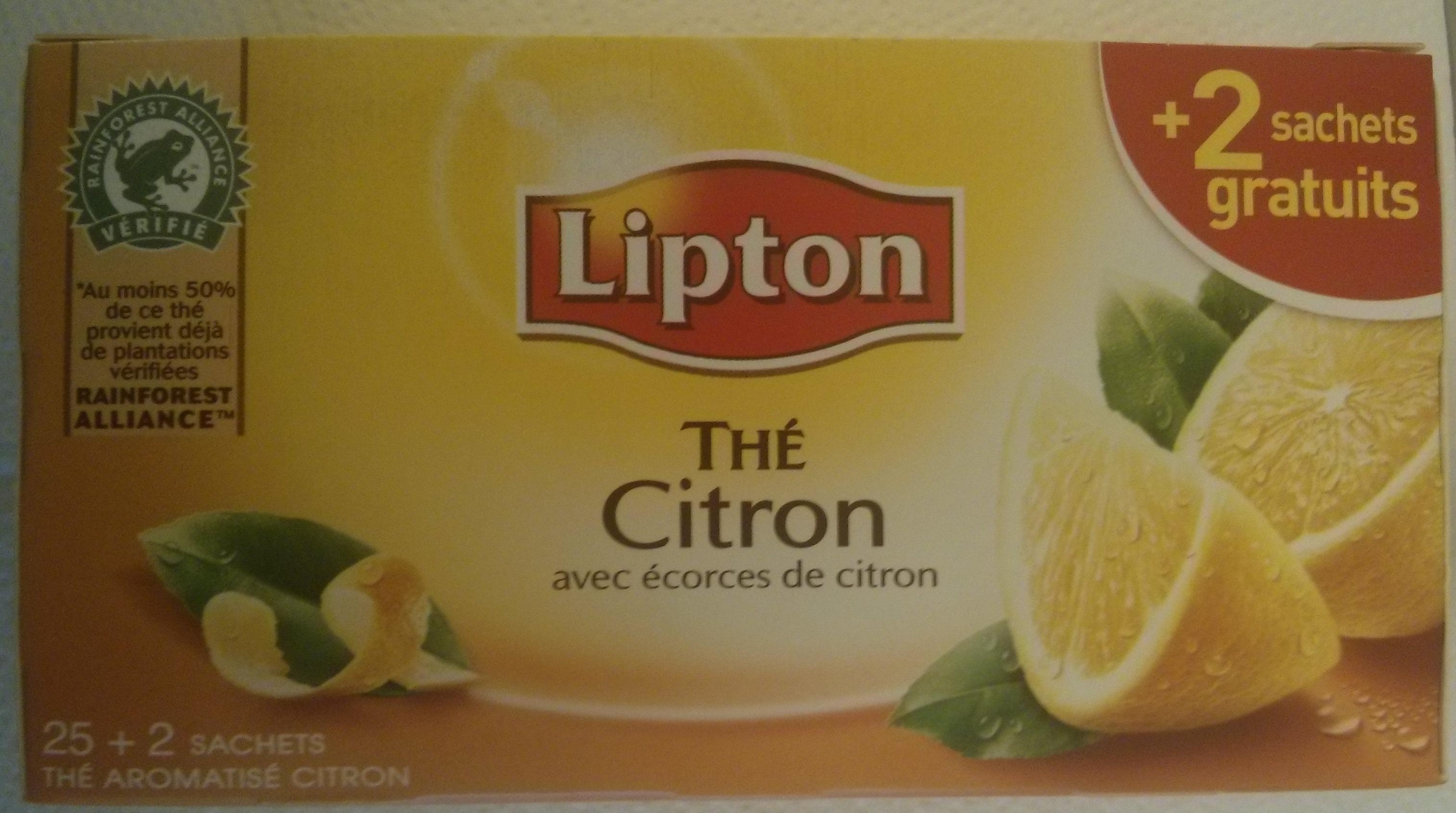 Thé Citron avec écorces de citron - Product - fr