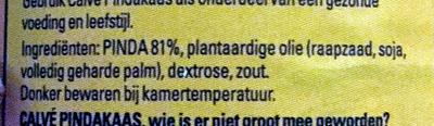Pindakaas, stukjes pinda - Ingrediënten - nl