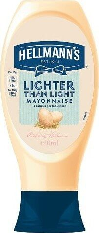 Lighter than Light Squeezy mayonnaise - Product - en