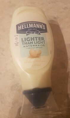 Lighter than Light Squeezy mayonnaise - Producto - es