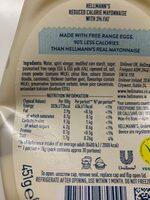 Lighter than Light Squeezy mayonnaise - Información nutricional - es