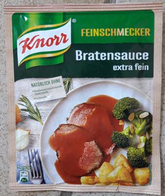 Knorr Bratensauce. extra fein - Produit