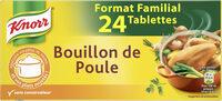 Knorr Bouillon Cube Poule 24 Cubes - Produit - fr