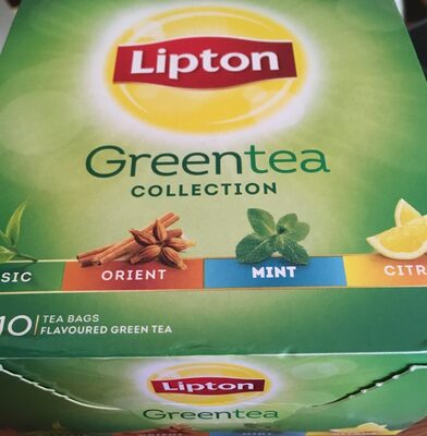 Green tea collection 4x10 sachets - Producto - fr