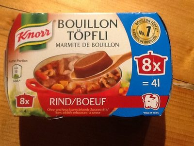 Bouillon Töpfli - Product