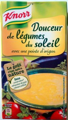 Knorr Les Classiques Soupe Liquide Douceur de Légumes du Soleil Brique 4 Portions - Product - fr