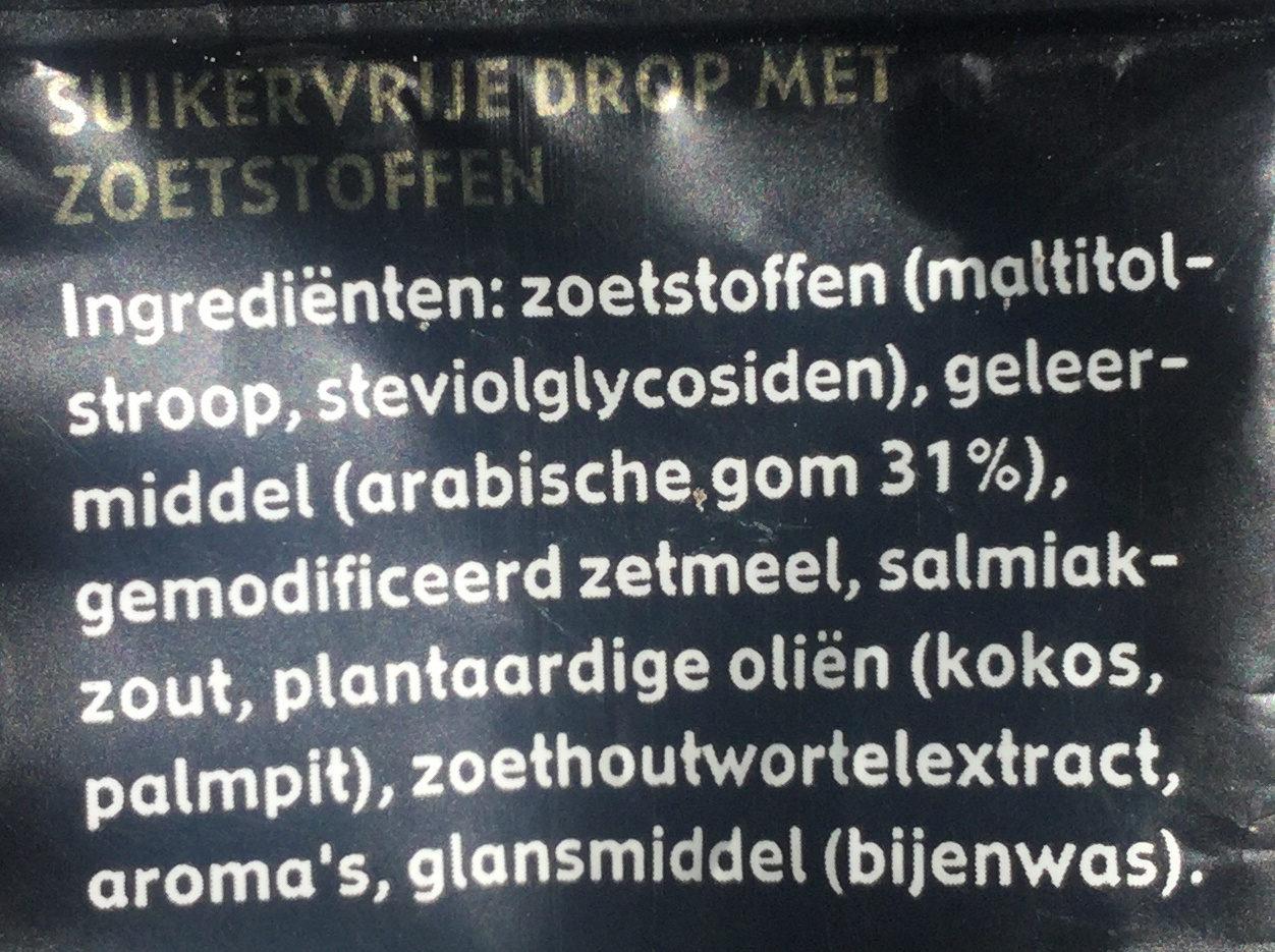 Ademin suikervrij test with product_name_nl - Ingrédients - nl