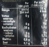 Ademin suikervrij test with product_name_nl - Nutrition facts