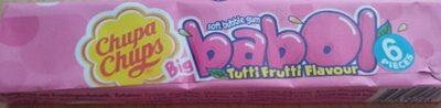 Chupa Chups Babo Tuttifrutti - Nutrition facts