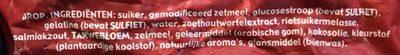Zakgeld zoet & zout - Ingrediënten - nl