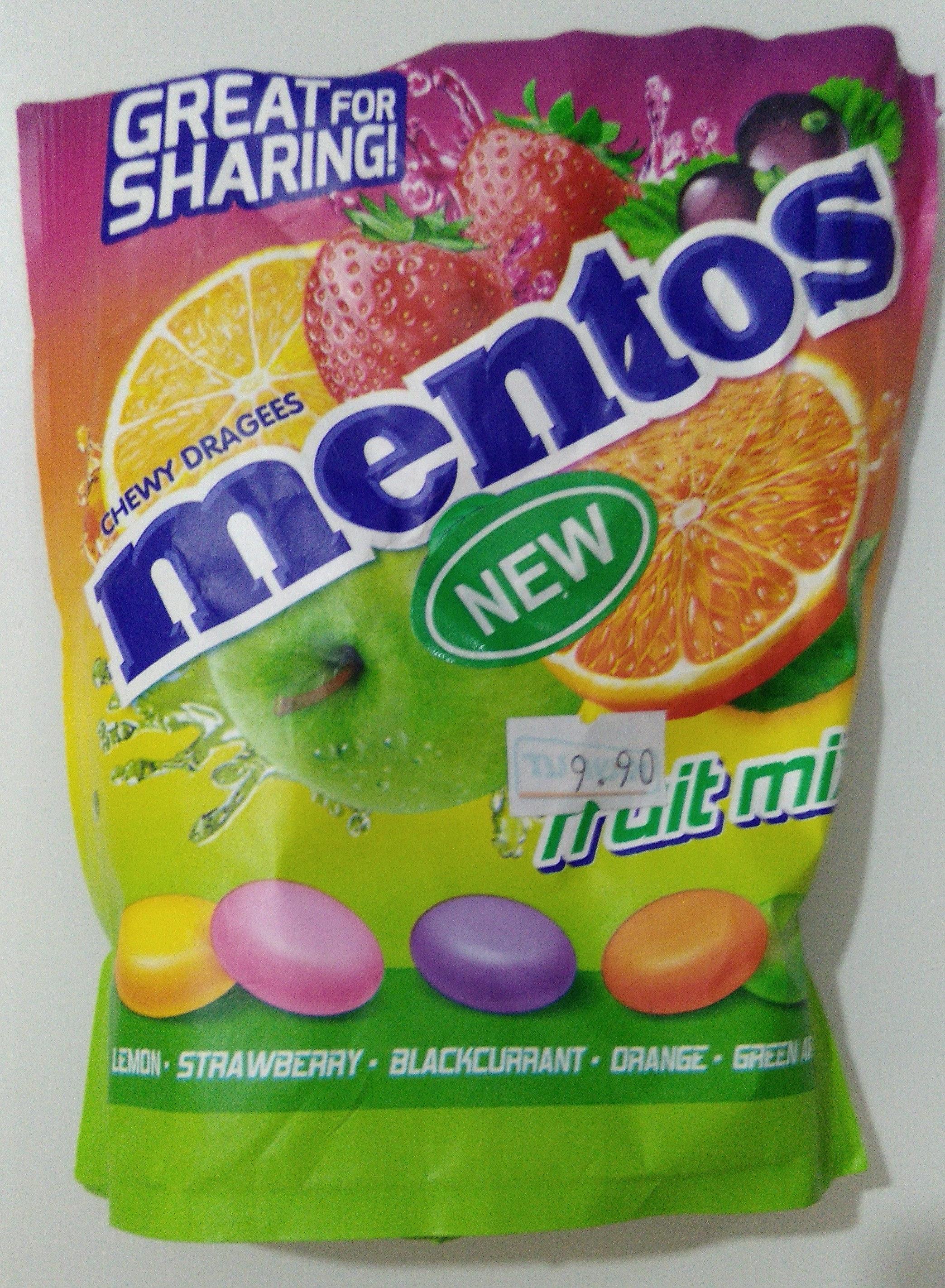 Mentos fruit mix - Product - en