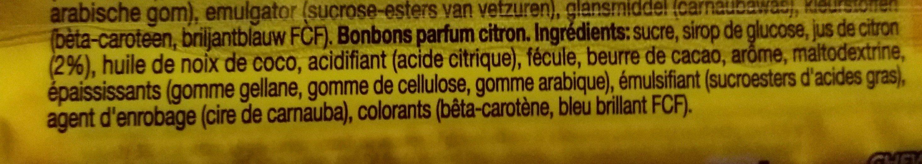 Mentos chewy dragees lemonade - Ingrédients - fr