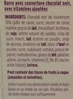 Ma pause - Ingredients - fr