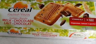 Biscuits lait chocolats - Product - fr