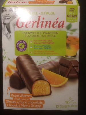Barre De Régime Orange Et Chocolat Noir - Product