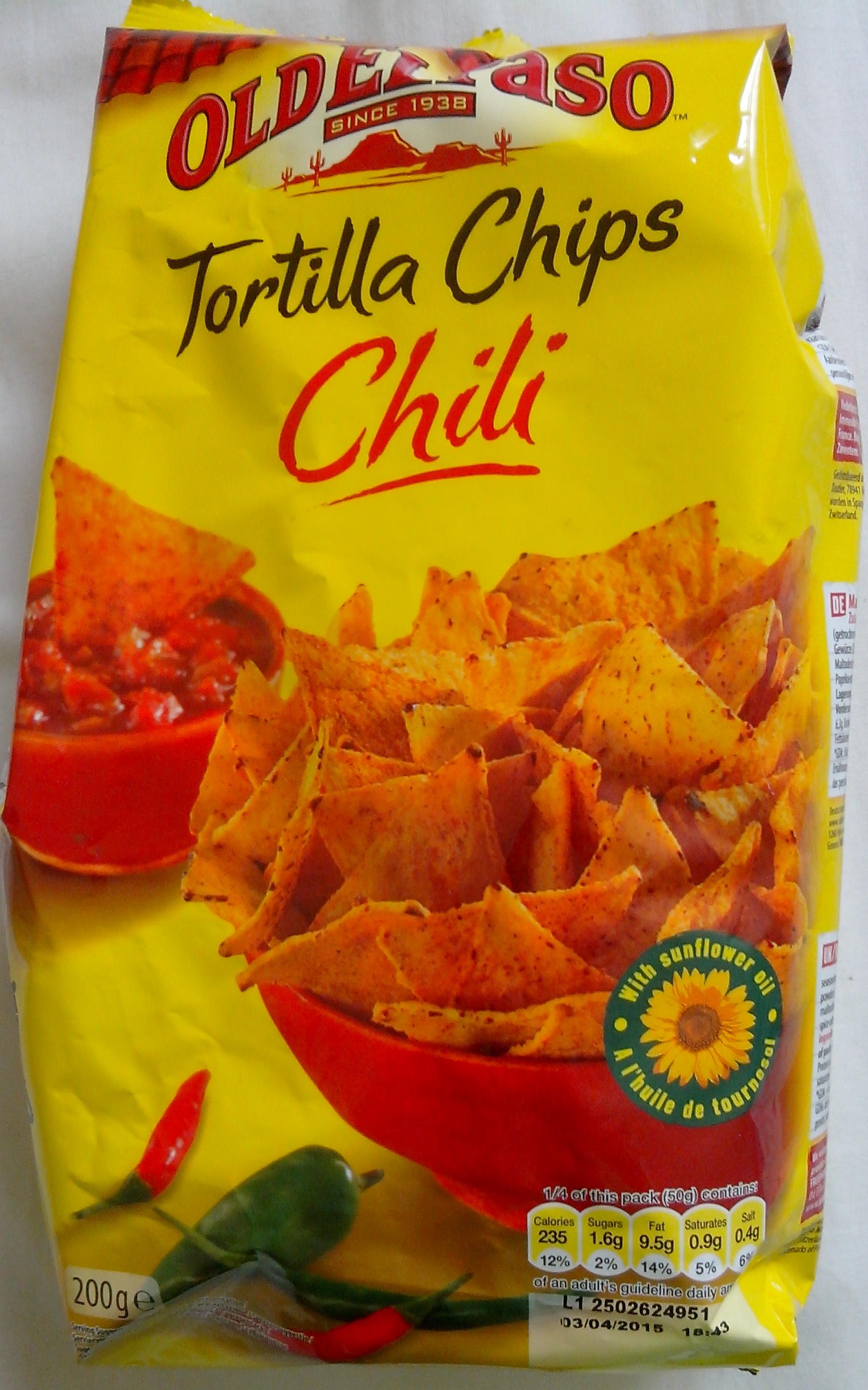 Tortilla chips chili - Prodotto - fr