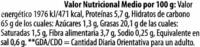 Nachips tortilla chips - Información nutricional - es