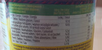 Salsa Original - Informations nutritionnelles - fr