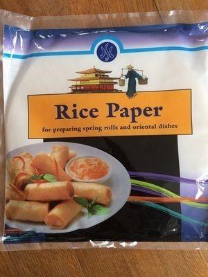 Papier de riz - Product - fr