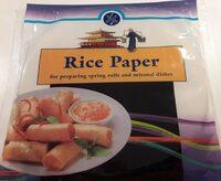 Papier de riz - Voedingswaarden - fr