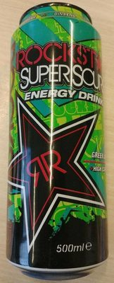 SuperSours Energy Drink - Product - fr