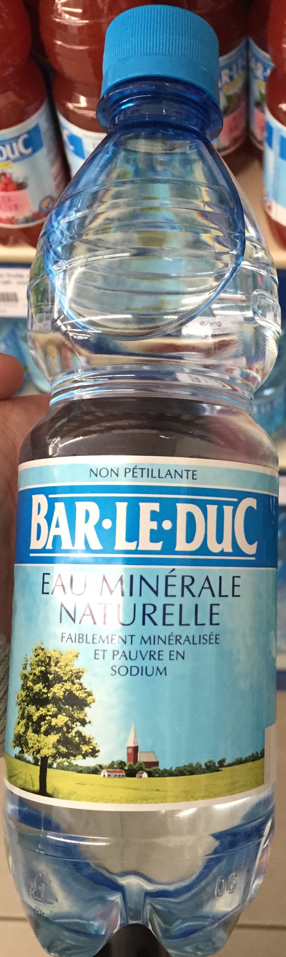 Eau min rale naturelle non p tillante bar le duc 0 5 l for Piscine bar le duc