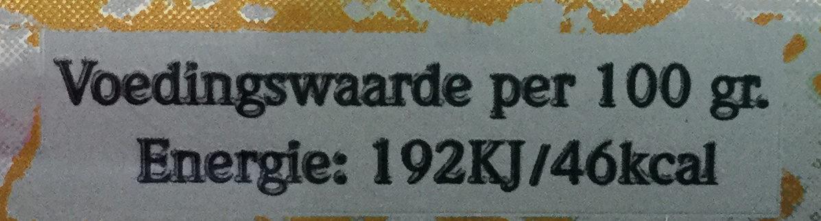 Edel'pils - Voedingswaarden - nl