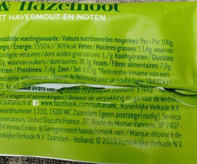 Just Good - Ingrediënten - fr