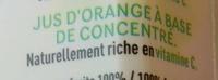 Orange - Ingrédients