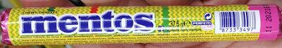 Kwaśne cukierki do żucia o smaku limonkowym, jabłkowym i truskawkowym - Produit - pl
