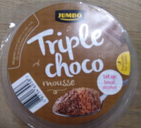 Triple choco mousse - Product - nl