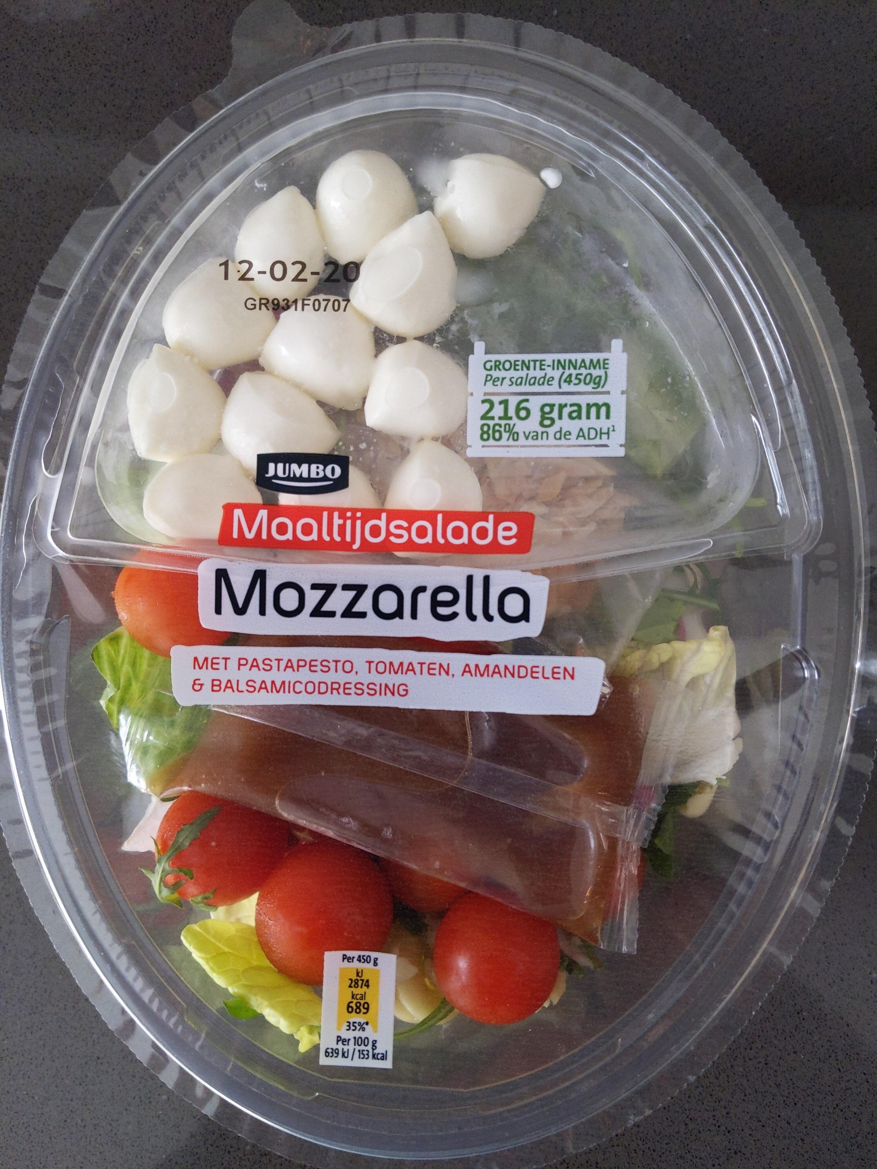 Maaltijdsalade Mozzarella - Product - nl