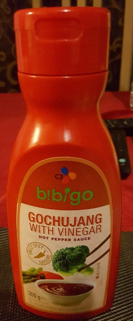 CJ Bibigo Gochujang With Vinegar (hot Pepper Sauce) - Produit