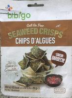 Chips d'Algues - saveur Barbecue - Produit