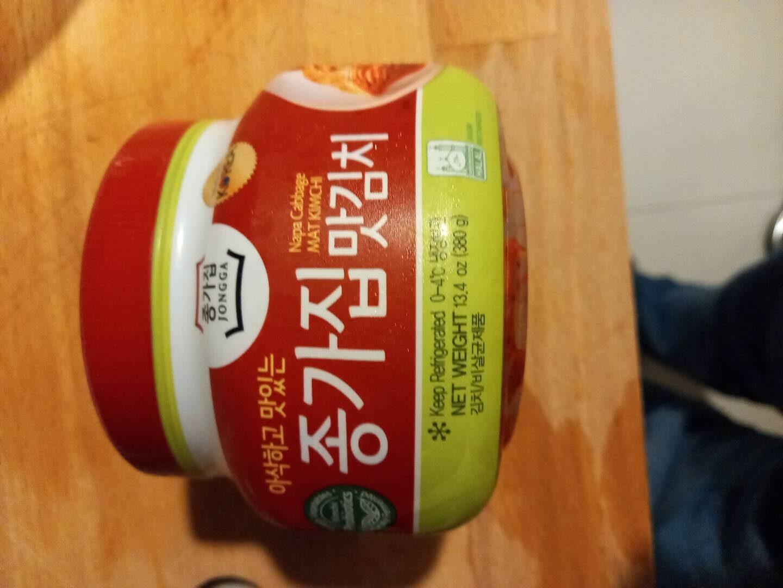 Korean nappa cabbage kimchi, Jongkajip brand - 产品 - en