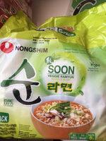 Soon Veggie Ramyun 5-Pack - Product - de