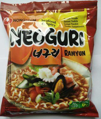 Nouilles Neoguri Ramyun Seafood & Spicy - Produit - fr
