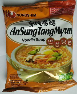 calorie Ansungtangmyun Nongshim Nouille125g