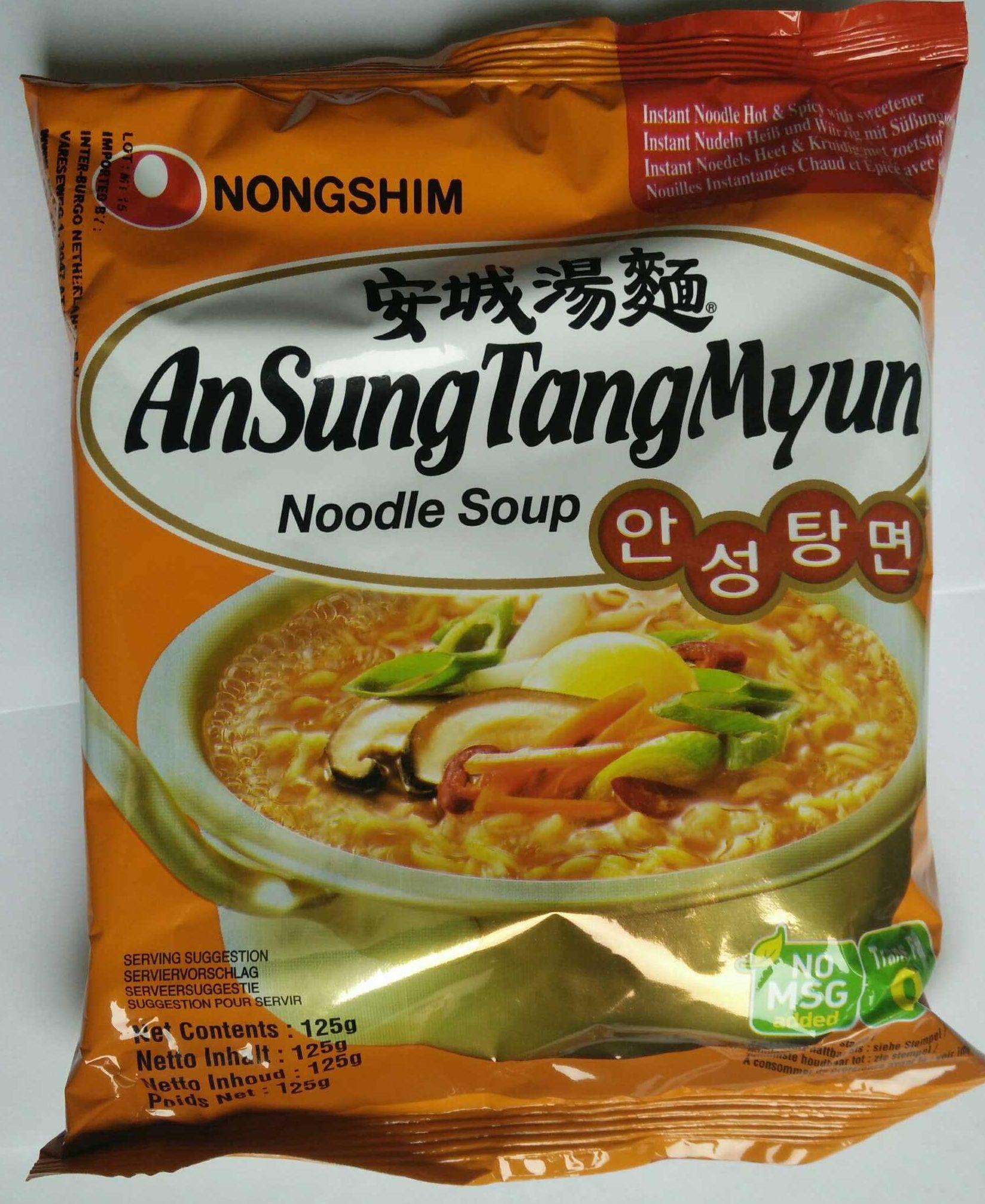 Ansungtangmyun Nongshim Nouille - Produit - fr