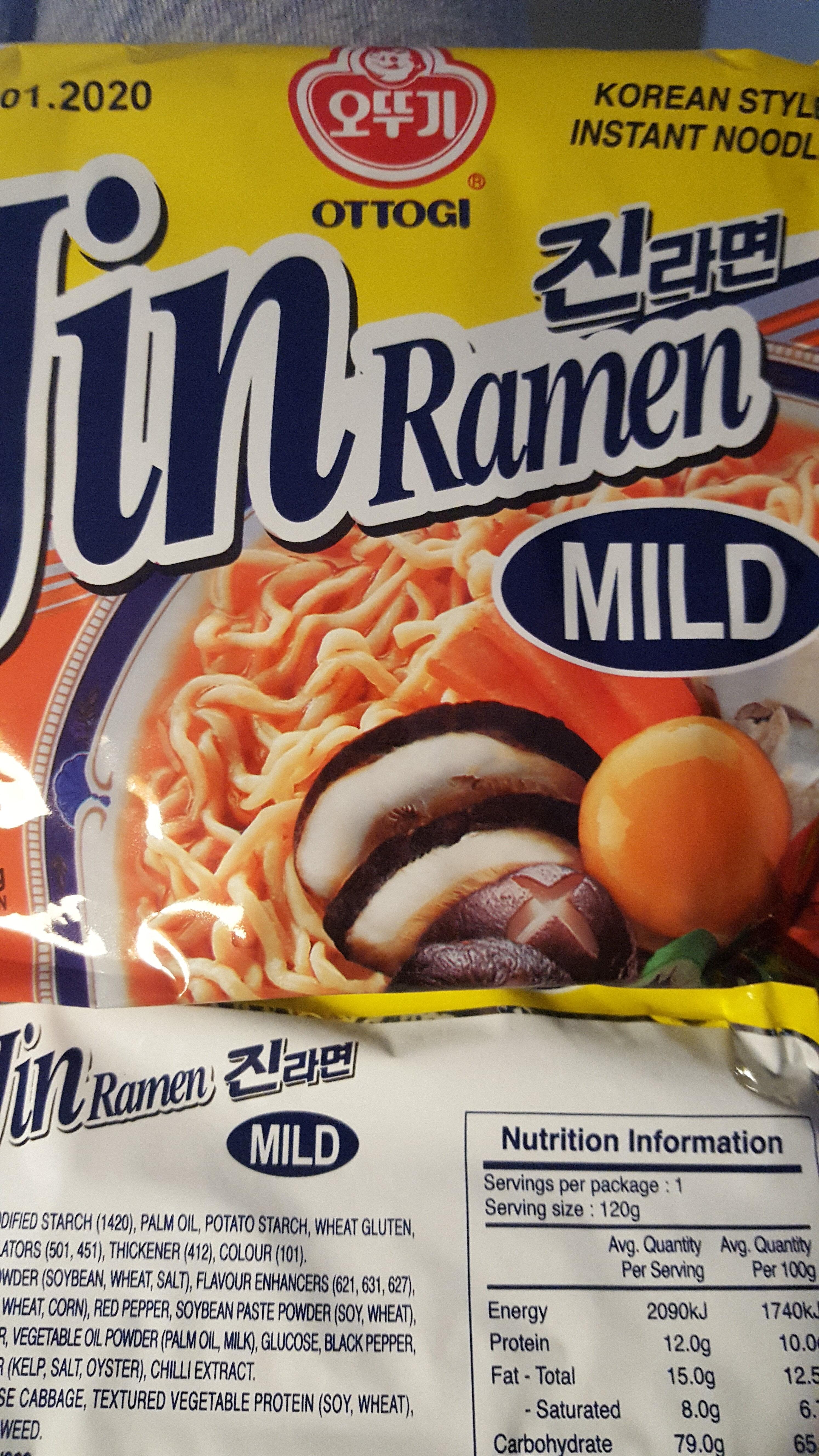 Jin Ramyon (mild) - Product - en